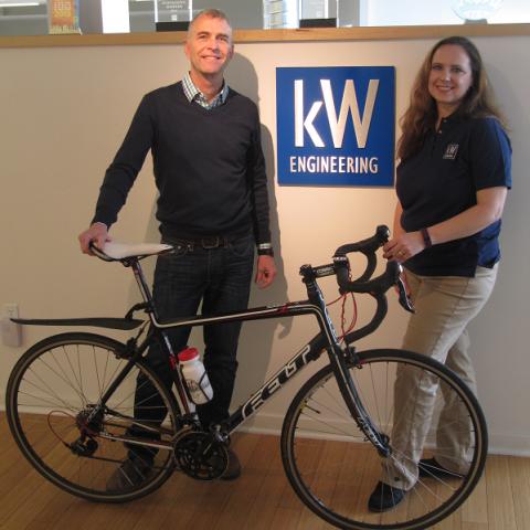 Small Business 2016 Bike Friendly Winners kW Engineering