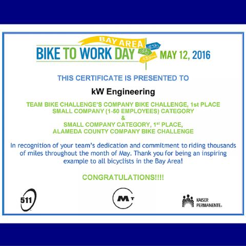 bike to work day winners 2016