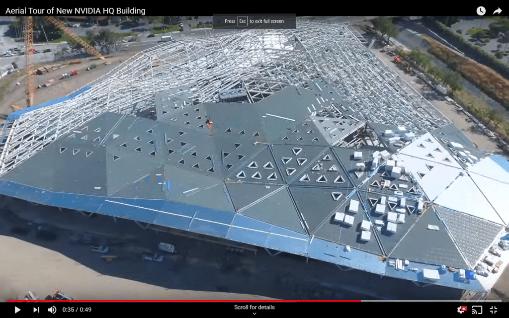 nvidia hq roof design deficiencies kw engineering energy consultants