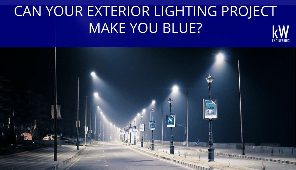 exterior lighting making you blue understanding the impact of
