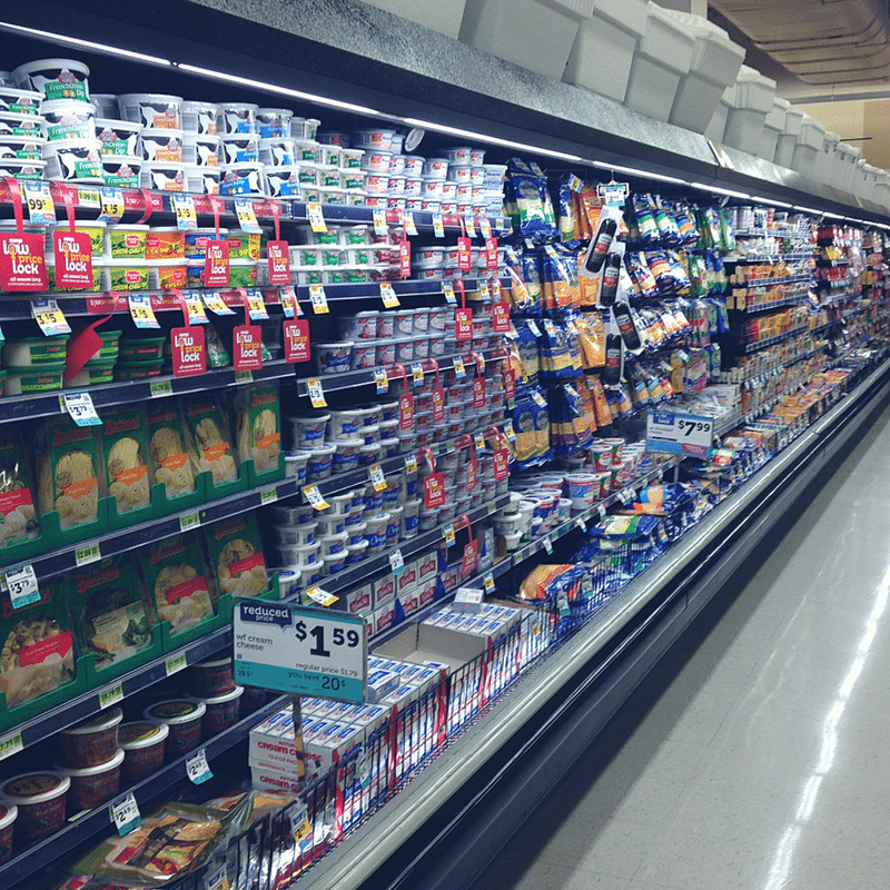 grocery store case lighting led project kw engineering