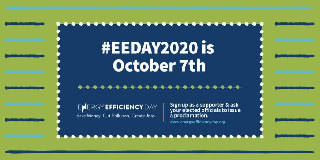 national energy efficiency day banner 2020