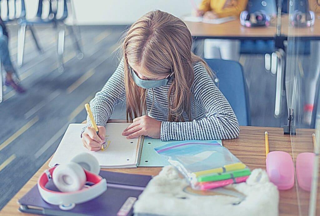 k-12 california school reopening socially distant student funding mitigating covid ventilation