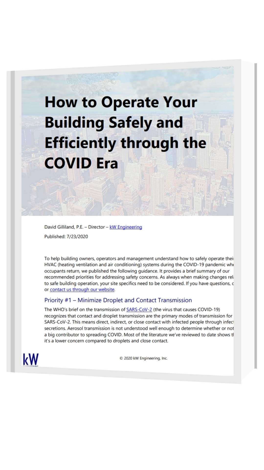 covid-19 building readiness ventilation guide kw engineering